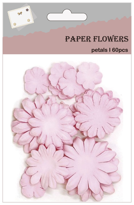 Purple girls hobby crafting paper petals