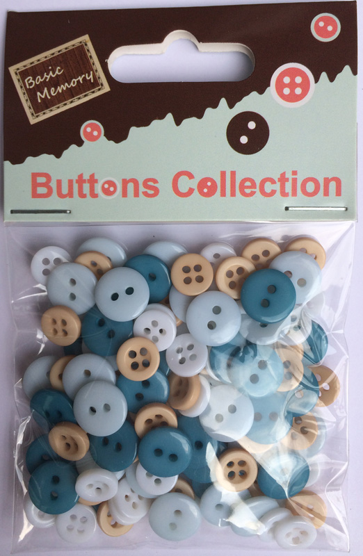 Boy assorted plastic buttons wholesale-mixed plastic buttons