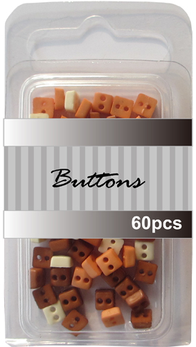 Animal set assort mini square buttons wholesale-tiny button