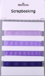 purple collection grosgrain ribbon pack