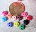 mini flower buttons for handicraft