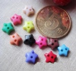 mini star shaped buttons wholesale