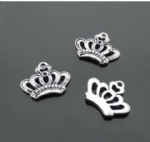 Crown shape charms for handicraft decorating