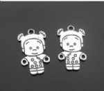 alloy fashion baby charms for hobby craft