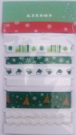 Christmas decorative ribbon collection