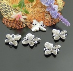 Alloy metal butterfly charms for scrapbooking
