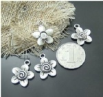 Metal blooms charms for metal craft