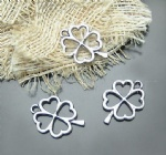 clover lucky charms for metal craft
