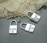 Classic lock charms for pandora bracelet