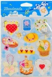 3D paper sticker for card making
