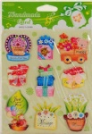 Cardmaking paper sticker 3D wholesale