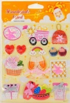 Craft paper 3D sticker for scrapbooking