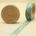 Alphabet collected self adhesive washi tape sticker