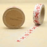 Crutch printed self adhesive washi tape for christmas decorating