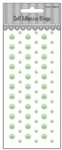 69pcs Ice green self adhesive pearls-scrapbook embellishments-