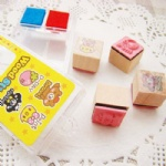 craft wooden stamp for scrapbooking
